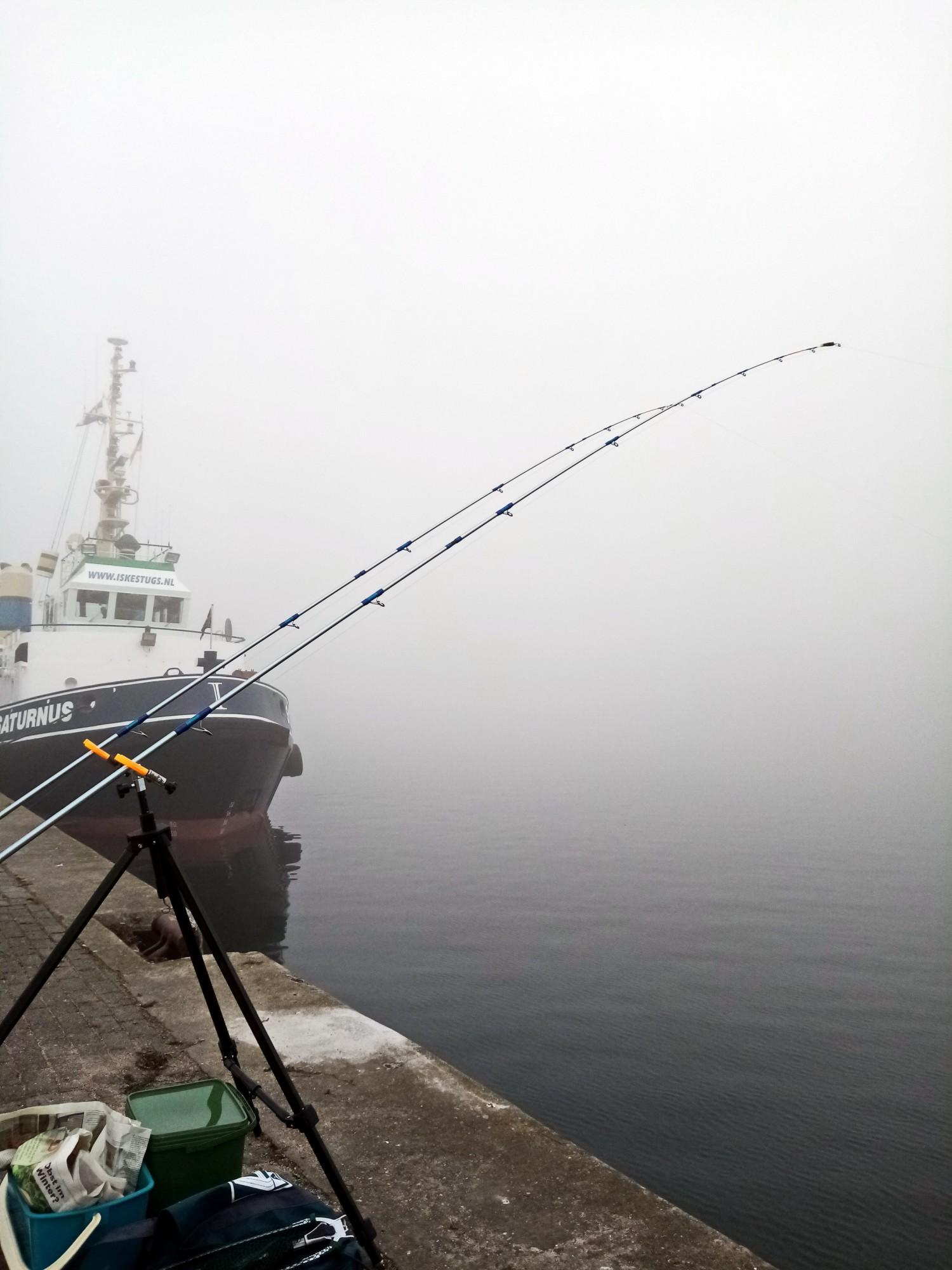TVM im Nebel